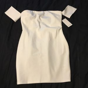 Tobi bodycon white dress